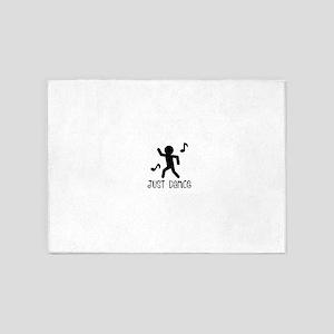 Just Dance 5'x7'Area Rug