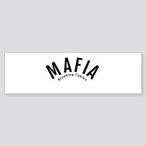 Mafia Bumper Sticker