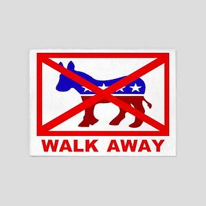 Walk Away 5'x7'Area Rug