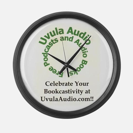 Uvula Audio Large Wall Clock