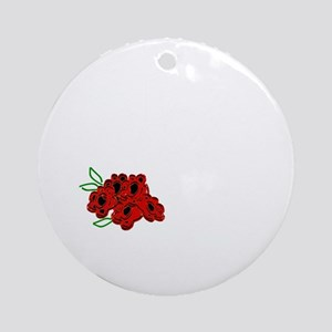 Music Just a Girl Who Loves Death M Round Ornament