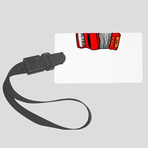 Music Accordian Go For Polk Polk Large Luggage Tag