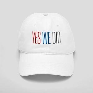 Obama Yes We Did Cap
