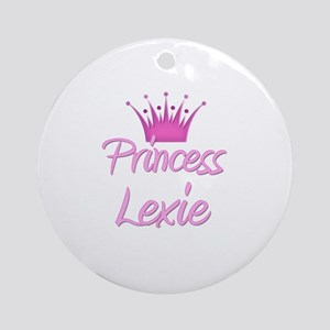 Princess Lexie Ornament (Round)