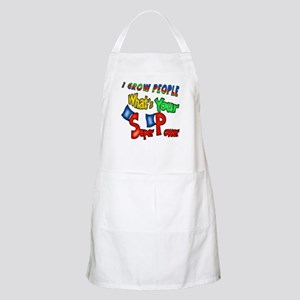 Grow People Super Power BBQ Apron