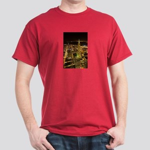 Transamerica Pyramid and Coit Dark T-Shirt