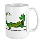 Caffeine Dragon Large Mug