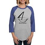 Kids4sail Womens Baseball Tee Long Sleeve T-Shirt