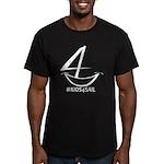 Kids4sail Men's Fitted T-Shirt (dark)