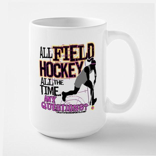 All Field Hockey Large Mug