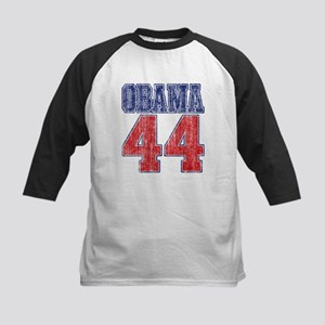 Obama 44th President (vintage Kids Baseball Jersey