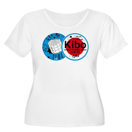 Kibo STS-123 Women's Plus Size Scoop Neck T-Shirt