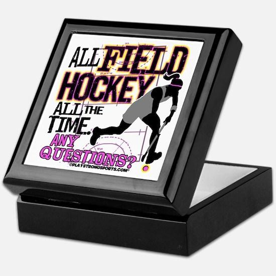 All Field Hockey Keepsake Box