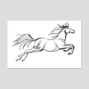 Equestrian Art Mini Poster Print