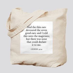 GENESIS  41:24 Tote Bag