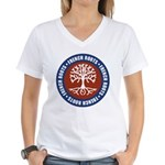 French Roots Women's V-Neck T-Shirt