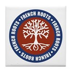 French Roots Tile Coaster
