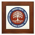 French Roots Framed Tile
