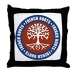 French Roots Throw Pillow