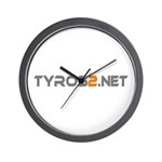 Tyros2.net Wall Clock
