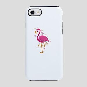 Flamingo Shirt Let's Fla iPhone 8/7 Tough Case