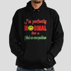 I'm perfectly normal for a Critical Hoodie (dark)