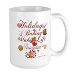 Holiday Baking Large Mug