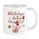 Holiday Baking Mug