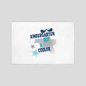 Kindergarten Just Got Cooler First Day 4' x 6' Rug