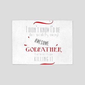 Best Godfather Image God Father God 5'x7'Area Rug