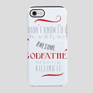 Best Godfather Image God Fat iPhone 8/7 Tough Case
