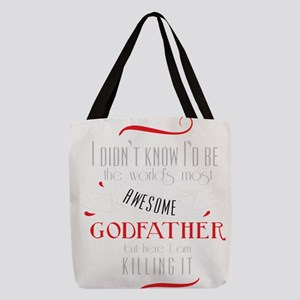 Best Godfather Image God Father Polyester Tote Bag