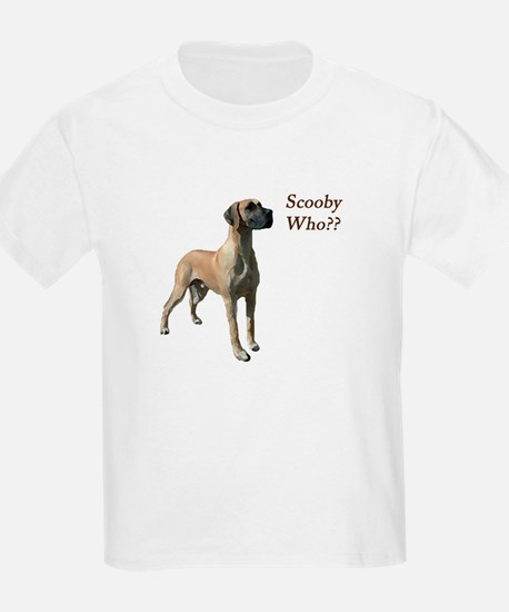 Scooby Who? Kids T-Shirt