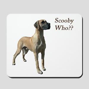 Scooby Who? Mousepad