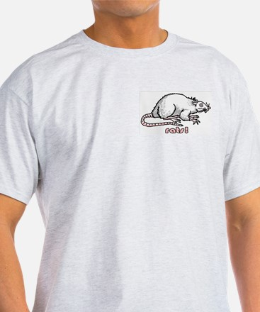I like rats Ash Grey T-Shirt