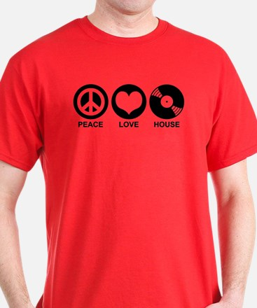 Peace Love House T-Shirt