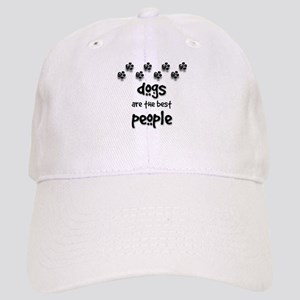 Dogs are the Best People Cap