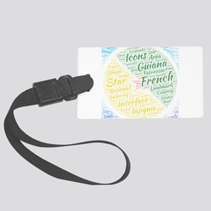 flag flags nation nationalities Large Luggage Tag