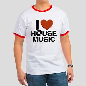 I Love House Music Ringer T
