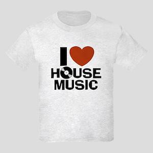 I Love House Music Kids Light T-Shirt