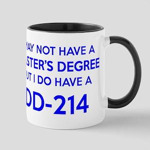 DD214 - Military Discharge Form DD-214 Mugs