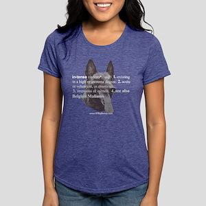 Intense--Belgian Malinois Women's Dark T-Shirt