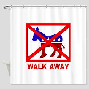 Walk Away Shower Curtain