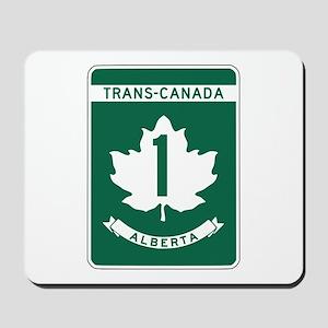 Trans-Canada Highway, Alberta Mousepad