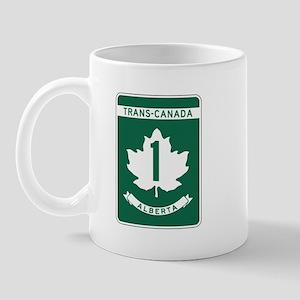 Trans-Canada Highway, Alberta Mug