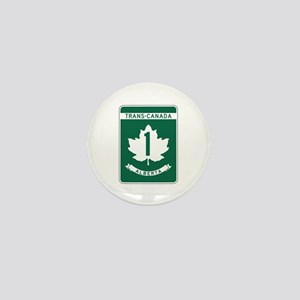 Trans-Canada Highway, Alberta Mini Button