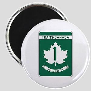 Trans-Canada Highway, Alberta Magnet