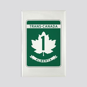 Trans-Canada Highway, Alberta Rectangle Magnet