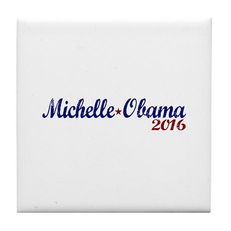 Vote Michelle Obama '16 Tile Coaster