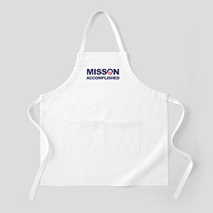 Mission Accomplished (Obama) BBQ Apron